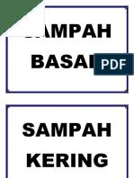SAMPAH BASAH