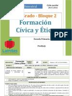 Plan 5to Grado - Bloque 2 Formación C y E