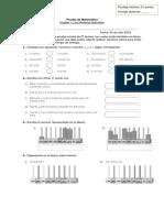 Prueba de Mat 5, u 1 Diferencial
