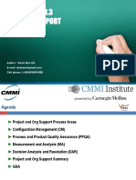 Project Support-CMMI Version 1.3