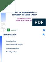 2.Analisis de Supervivencia El Estimador de Kaplan-Meier