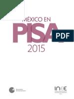 México en Pisa 2015