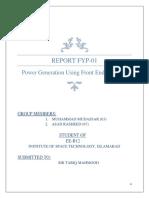 FYP Report 01