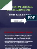 Sejarah Islam Sehingga Daulah Abbassiyah-Assignment
