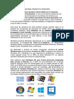 Sistema Operativo Windows