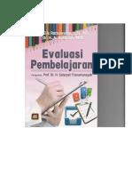 Buku Evaluasi Pembelajaran