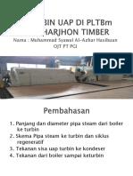 Turbin Uap Di Pltbm Pt Harjhon Timber