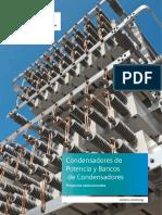 Condensadores de Potencia y Bancos de Condensadores- Siemens