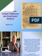 Aksara Pegon Sebagai Indigenous Dan KonfrontasiKultural