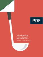 Meriendas Modulo 1 IntroduccionMSP
