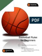 basketball beginner rulebook 2018