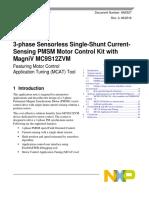 3-Phase Sensorless Single-shunt Current-sensing PMSM Motor Control KIt With Magniv MC9S12ZVM