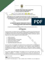 Borrador Resolucion 0017 Revision Comision 02112017