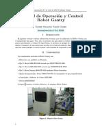 Informe Gantry