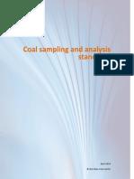 Coal Sampling and Analysis