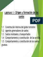1. Constitucion Interna y Agentes Generadores
