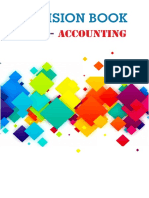 Accounting Revision Book latest edition 2017-2018