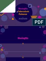 Meningitis y tuberculosis pulmonar