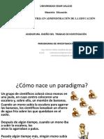 2. Paradigmas de Investigacion