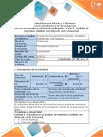 Guia de Actividades y Rubrica de Evaluacion Fase 3 - Análisis de Regresión Múltiple Con Datos de Corte Trasversal