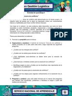 Evidencia 4 Blog Solucion de Conflictos