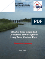 Wasa Recoments for Combine Sewer System