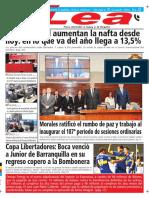 Periódico Lea Jueves 05 de Abril Del 2018