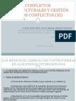 CONFLICTOS INTERCULTURALES Y GESTIÓN DE LOS CONFLICTOS_Escobar (III)