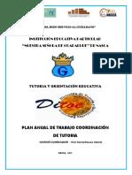 Plan Anual Tutoria