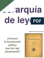 jerarquía de leyes
