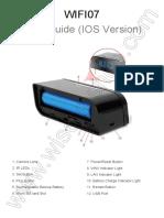 WIFI07 Wifi Hidden Camera Clock User Manual (IOS Version)