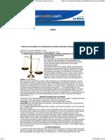 El Error Inexcusable en El Ordenamiento Jurídico Nacional e Internacional