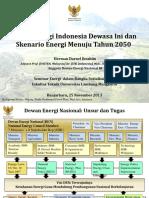 Skenario Dan Kebijakan Energi Menuju 2050 _ Herman Darnel Ibrahim