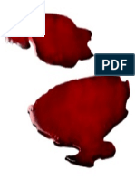 Pool of blood.