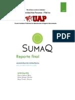 Evaluación de Estrategias Del Restaurante SUMAK