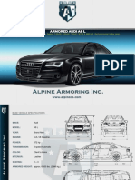 Alpine Armoring Armored Audi a8