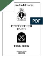 Petty Officer Cadet Task Book