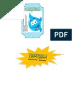 Etiqueta Reverso y Logo