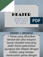 Heater Ppt