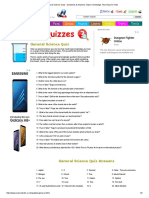 General Science Quiz - Questions & Answers, Basic Knowledge Test, Easy for Kids.pdf