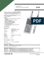 Yokogawa Conductivity Meter