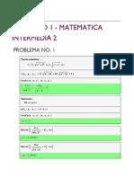 Proyecto 1 - Matemática Intermedia 2