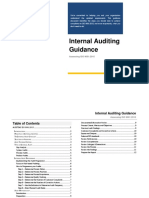 Internal Auditing Guidance