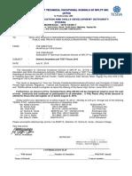 Tvet Forum 2015 Letter of Invitation 2015 Revised Copy July 302015