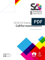2018 South Australian Training Awards - Nomination Book