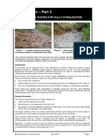 Design of Rock Chutes for Gully Stabilisation (Gully Erosion Part 3)