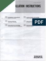 Installation Instructions-Volvo Penta