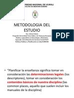 1. Metodologia Del Estudio Universitario