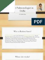 Best pulmonologist in Delhi