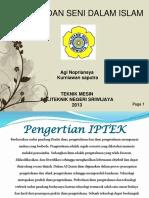 139420282-Iptek-Dan-Seni-Dalam-Islam.pptx